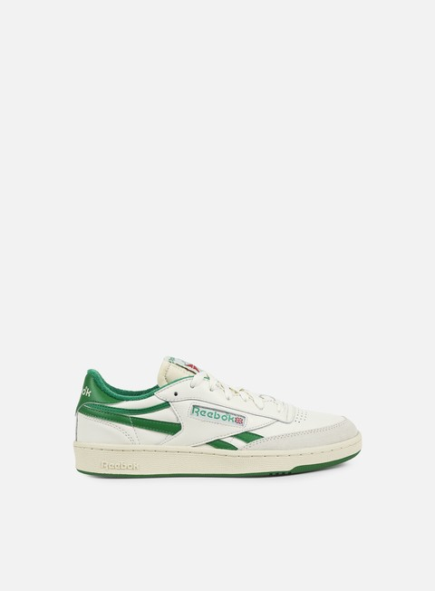 sneakers reebok revenge plus vintage chalk paper white glen green