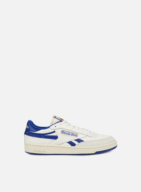 sneakers reebok revenge plus vintage chalk paper white royal red
