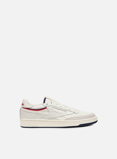 sneakers reebok revenge thof chalk white red