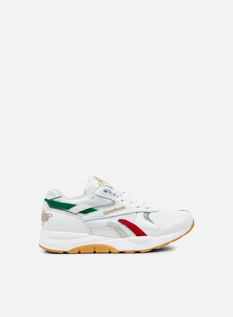 sneakers reebok ventilator supreme cdm white primal red basil green gum