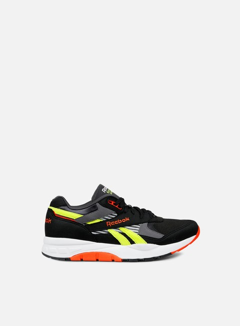 sneakers reebok ventilator supreme r90 black white yellow red