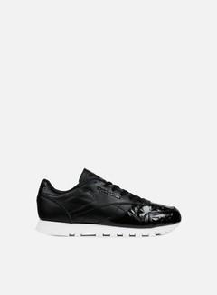 Reebok - WMNS Classic Leather Hype Metallic, Black/White 1