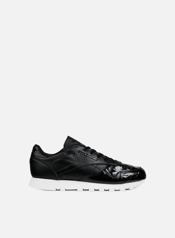 Reebok - WMNS Classic Leather Hype Metallic, Black/White