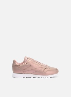 Reebok - WMNS Classic Leather Pearlized, Rose Gold/White