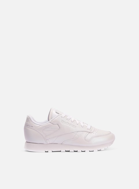 sneakers reebok wmns classic leather pearlized white