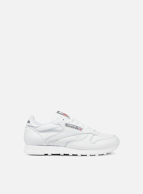 sneakers reebok wmns classic leather white carbon red