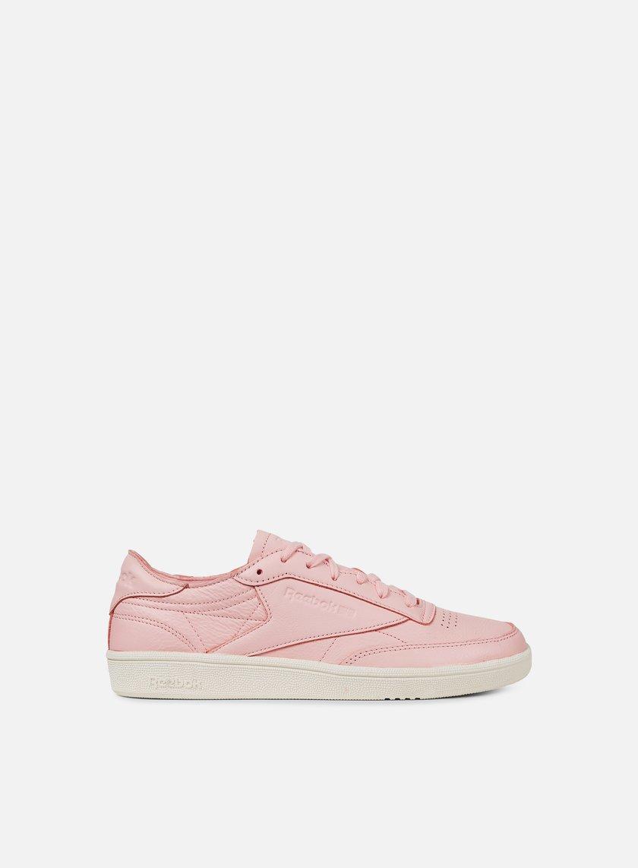 Reebok Club 85 C Dcn Chaussures De Sport - Rose Et Violet zyJ7R0