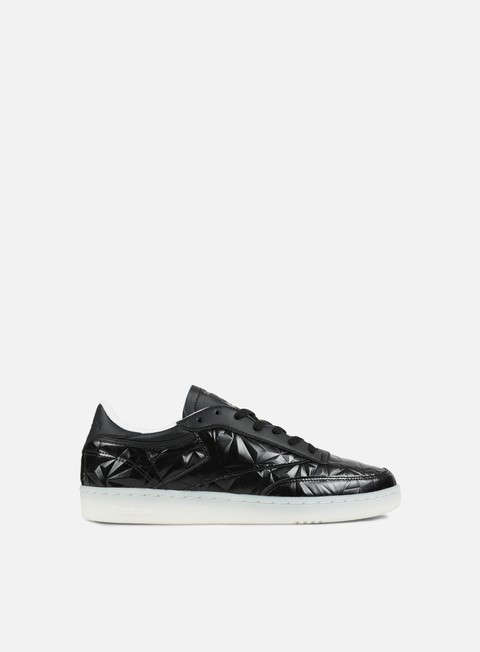 sneakers reebok wmns club c 85 hype metallic black white