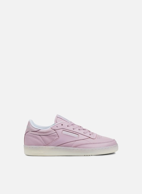 sneakers reebok wmns club c 85 otc shell purple white grey