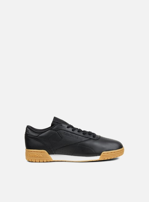 sneakers reebok wmns exofit lo cln garment black white gum