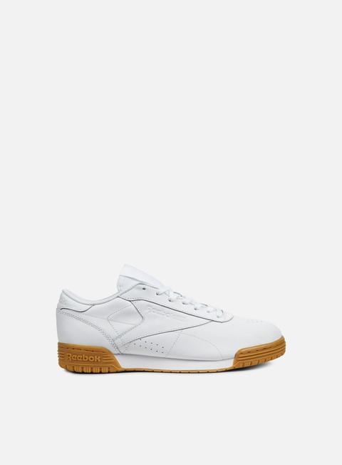 sneakers reebok wmns exofit lo cln garment white gum