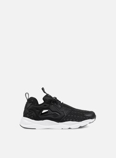 Reebok - WMNS Furylite New Woven, Black/Solid Grey/White