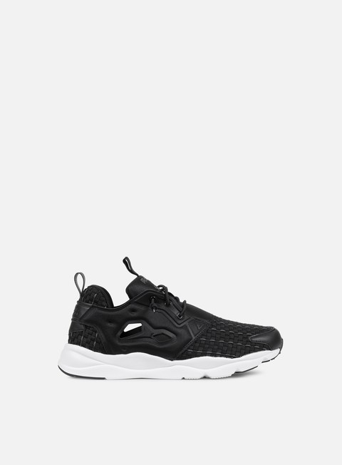 sneakers reebok wmns furylite new woven black solid grey white