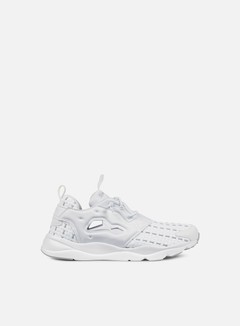 Reebok - WMNS Furylite New Woven, White/Steel 1