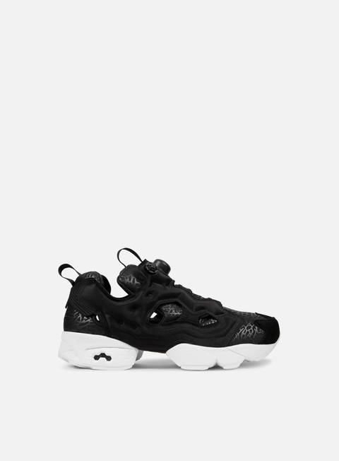 sneakers reebok wmns instapump fury gallery black white