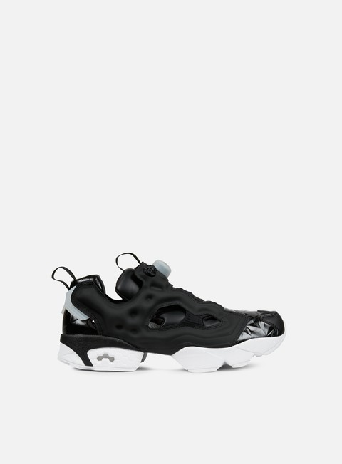 sneakers reebok wmns instapump fury hype metallic black white