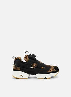 Reebok - WMNS Instapump Fury Jungle Book, Black/Gold Metallic/Chalk 1