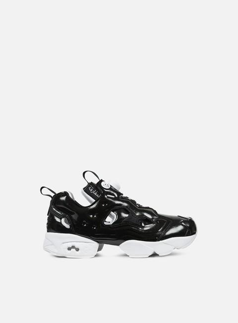 sneakers reebok wmns instapump fury ob black white