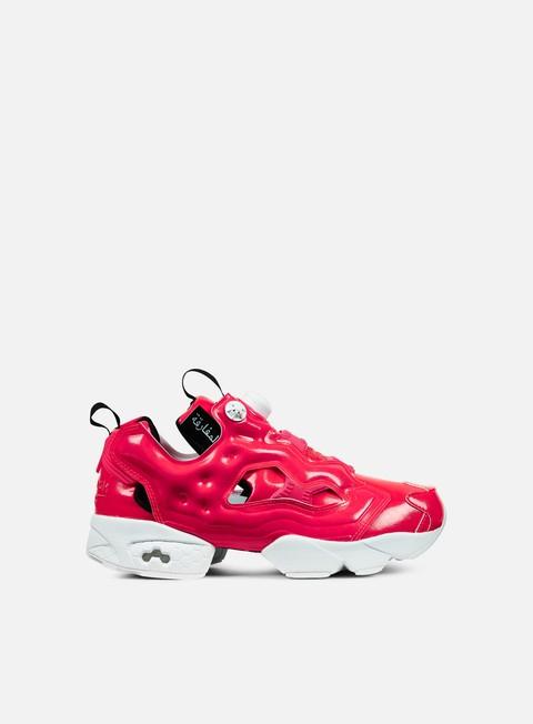 sneakers reebok wmns instapump fury ob neon cherry white black