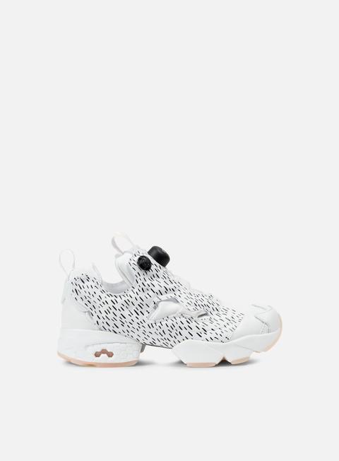sneakers reebok wmns instapump fury sc white lunar pink black