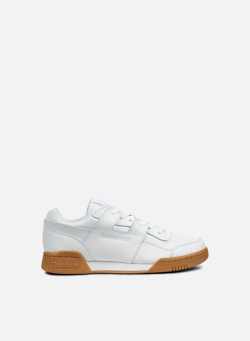 Reebok - WMNS Workout LO Pluss Gag, White/Gum