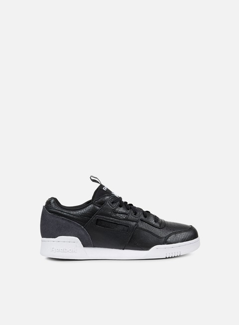 sneakers reebok workout plus it black coal white