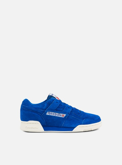 sneakers reebok workout plus vintage awesome blue chalk white