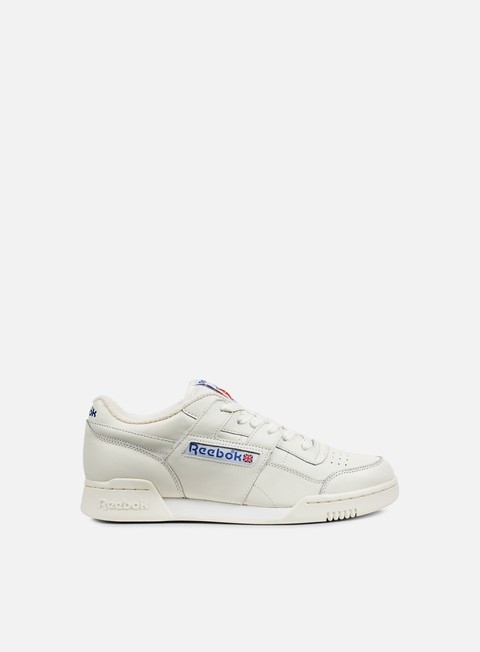 sneakers reebok workout plus vintage chalk classic white
