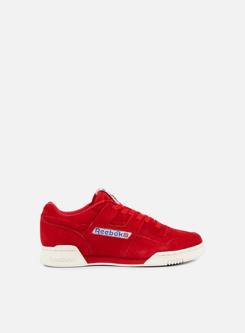 sneakers reebok workout plus vintage primal red chalk white