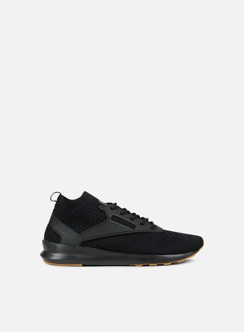 sneakers reebok zoku runner ultk gum black ash grey gum