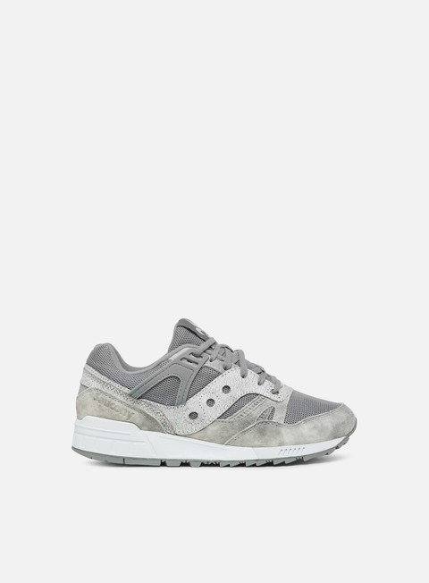 sneakers saucony grid sd grey white