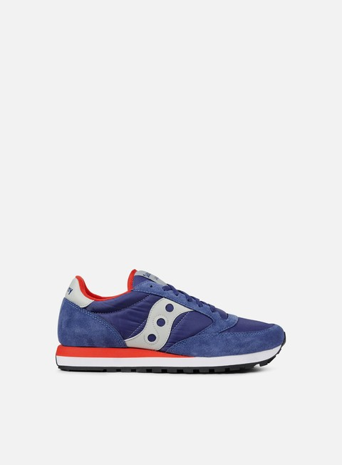 sneakers saucony jazz original blue red