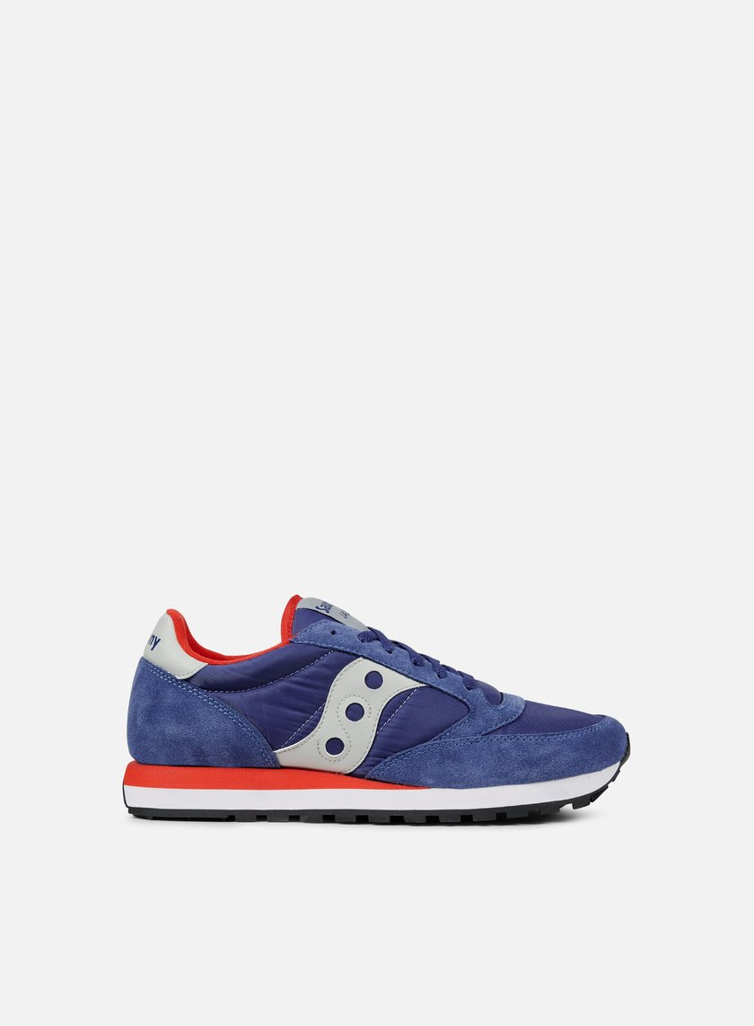 blue saucony sneakers