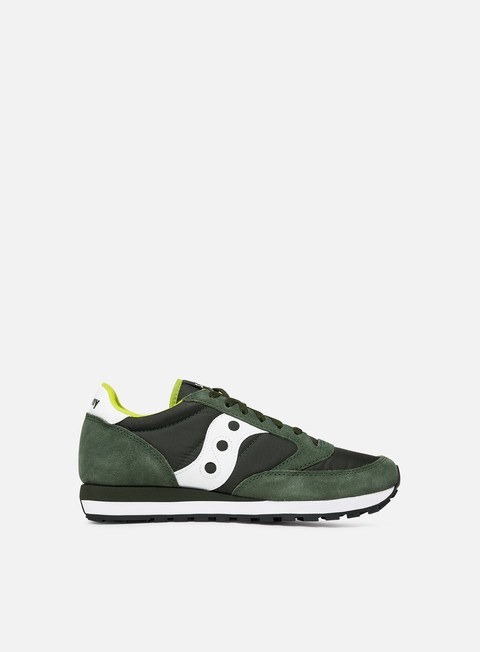 sneakers saucony jazz original dark green