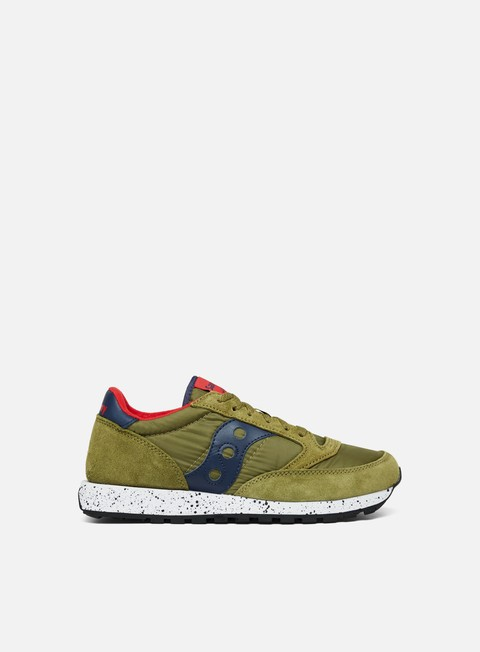 sneakers saucony jazz original green blue red