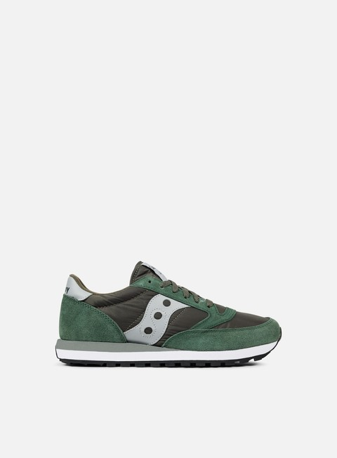 sneakers saucony jazz original green grey