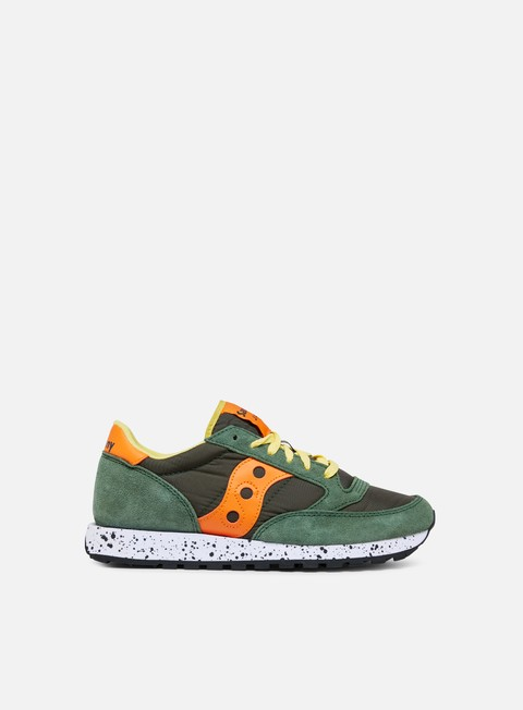 sneakers saucony jazz original green orange