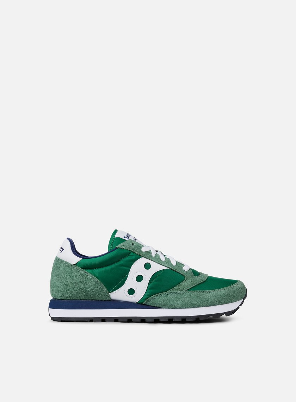 Scarpa Sneaker Saucony Jazz Original Uomo S2044 COL. 447 GREEN/WHITE