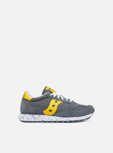 sneakers saucony jazz original grey yellow