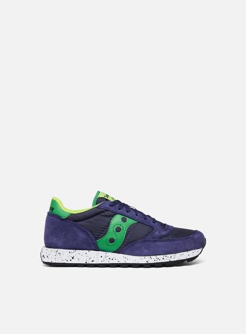 sneakers saucony jazz original navy green slime