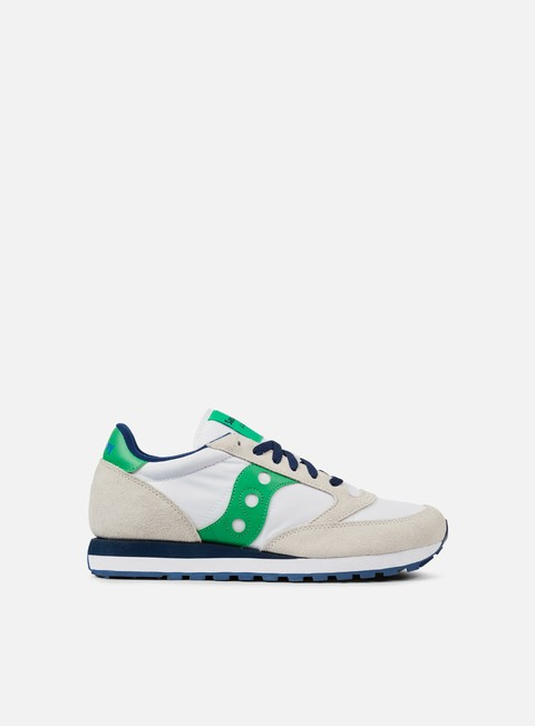 sneakers saucony jazz original white green
