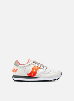 Saucony - Jazz Original, White/Orange