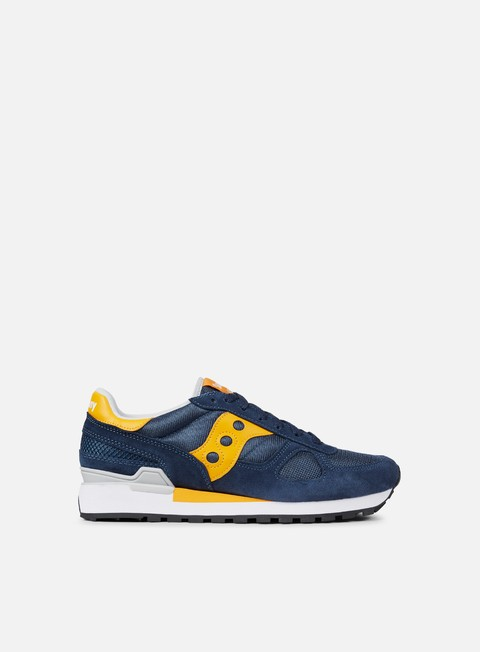 sneakers saucony shadow original blue yellow