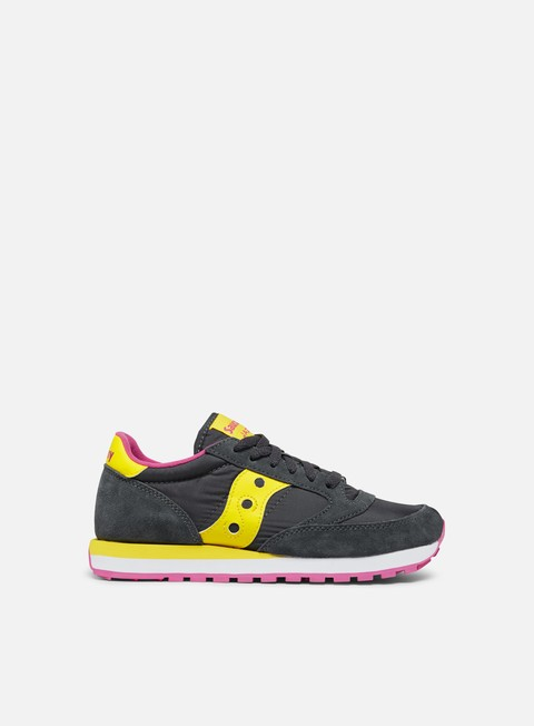 sneakers saucony wmns jazz original charcoal yellow