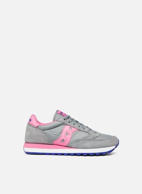 sneakers saucony wmns jazz original grey pink
