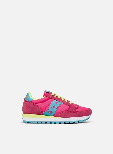 sneakers saucony wmns jazz original pink yellow