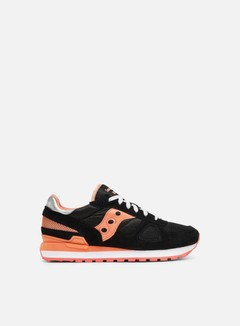 Saucony - WMNS Shadow Original, Black/Coral