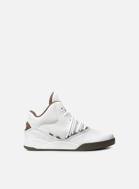 sneakers supra estaban white morel morel