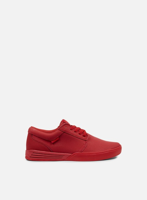 sneakers supra hammer red red