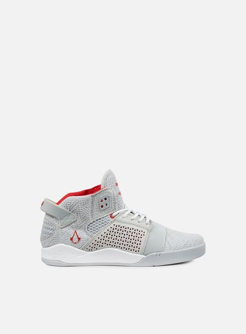 sneakers supra skytop iii assassins creed grey red white